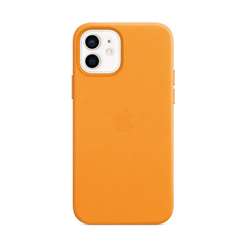 iPhone 12/12 Pro MagSafe皮革殼-加州罌粟