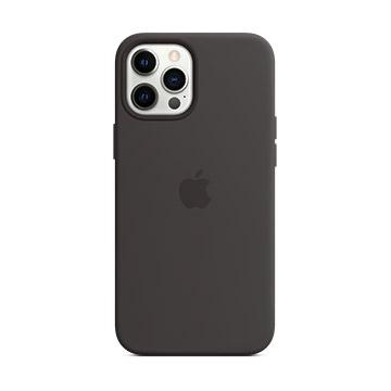 iPhone 12 Pro Max MagSafe 矽膠殼-黑色