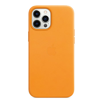 iPhone 12 Pro Max MagSafe皮革殼-加州罌粟