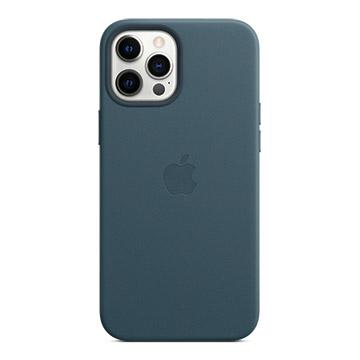 iPhone12 Pro Max MagSafe 皮革殼-波羅的海藍