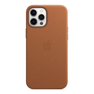 iPhone 12 Pro Max MagSafe 皮革殼-馬鞍棕色