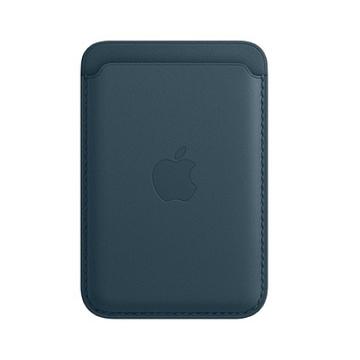 iPhone MagSafe 皮革卡套-波羅的海藍色