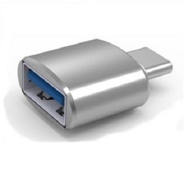 ZBAND USB3.0 轉Type-C鋁合金轉接頭-銀