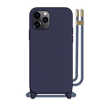SwitchEasy iPhone 12 mini 吊繩保護殼-藍