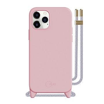 SwitchEasy iPhone 12 mini 吊繩保護殼-粉