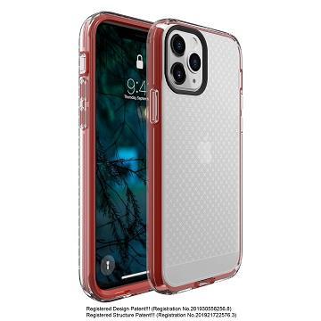Amachine iPhone 12 Pro Max 保護殼-烈焰紅