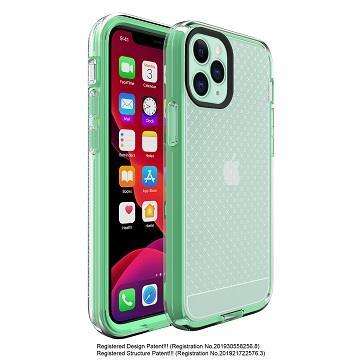 Amachine iPhone 12 Pro Max 保護殼-蒂芬妮綠