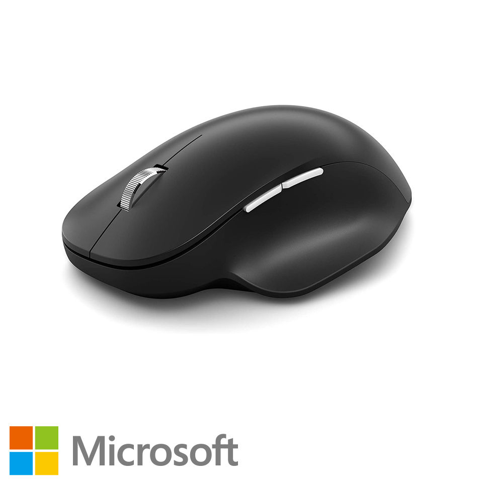 Microsoft微軟 藍牙人體工學滑鼠 黑 222-00014