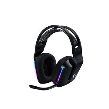 Logitech羅技 G733 LIGHTSPEED無線遊戲耳麥-黑