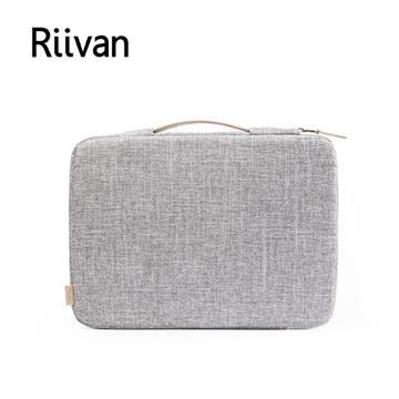 Riivan 13吋防震手提電腦包-灰