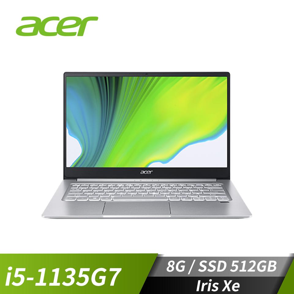 """宏碁 ACER Swift 3 筆記型電腦 14""""(i5-1135G7/Iris Xe/8GB/512GB/EVO認證)"""