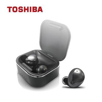 TOSHIBA東芝 真無線藍牙耳機-黑