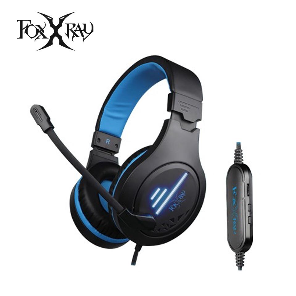 Foxxray狐鐳 流聲響狐USB電競耳機麥克風