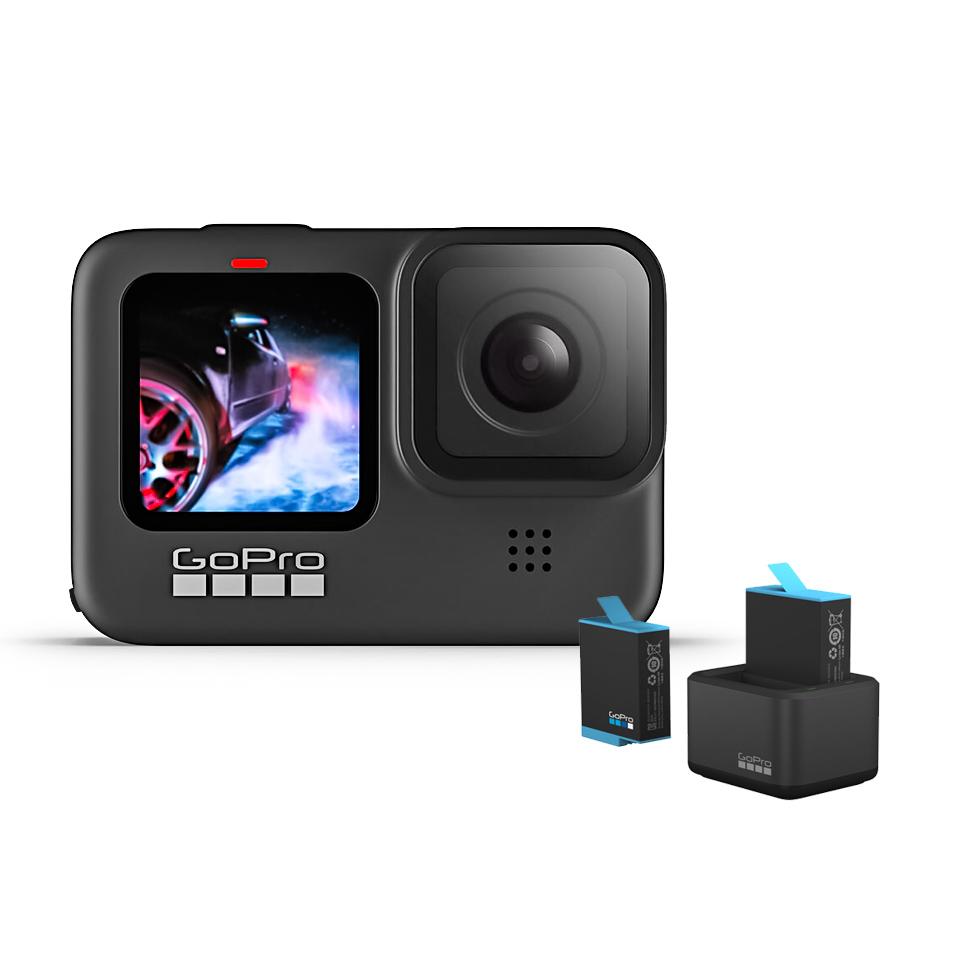 GoPro HERO9 Black 攝影機+雙充組(CHDHX-901-LW+ADDBD-001AS)