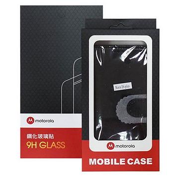 MOTOROLA Moto E6 Plus 透明玻璃保護貼