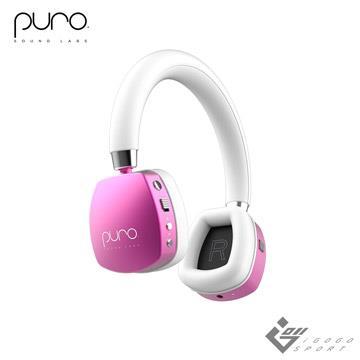 Puro Quiets 降噪無線兒童耳機-粉紅色