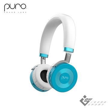 Puro JuniorJams 無線兒童耳機-薄荷藍