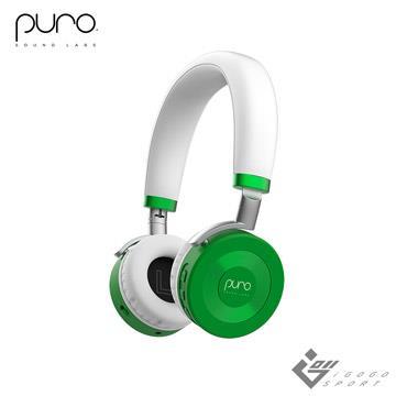 Puro JuniorJams 無線兒童耳機-綠色