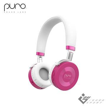 Puro JuniorJams 無線兒童耳機-粉紅色