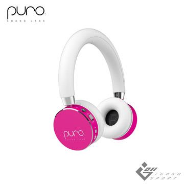 Puro BT2200s 無線兒童耳機-粉紅色