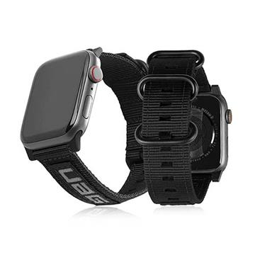 UAG Apple Watch 38/40mm Nato環保錶帶-黑 19149C114040