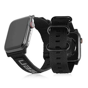 UAG Apple Watch 42/44mm Nato環保錶帶-黑
