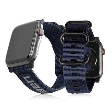 UAG Apple Watch 42/44mm Nato環保錶帶-藍