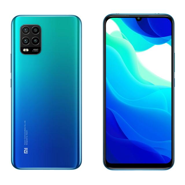 小米10 Lite 6G+128G (極光藍) MZB9557TW
