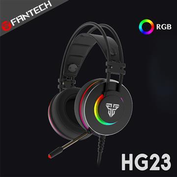 FANTECH HG23 RGB光圈耳罩式電競耳機