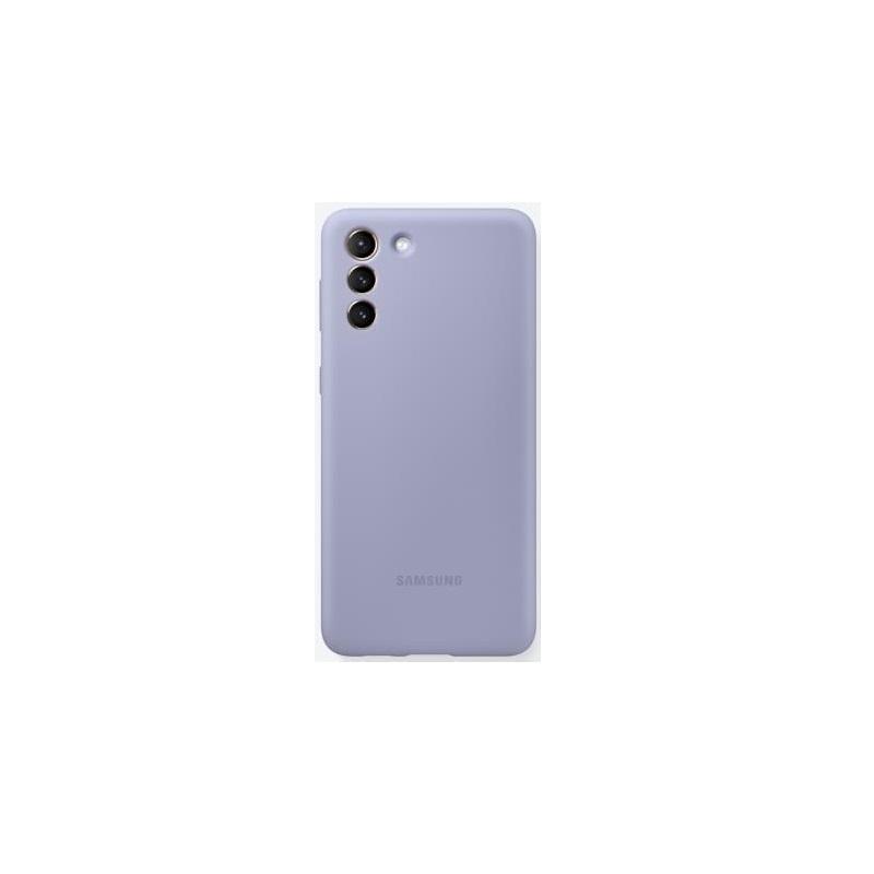 SAMSUNG S21+ 原廠矽膠薄型背蓋 紫 EF-PG996TVEGWW