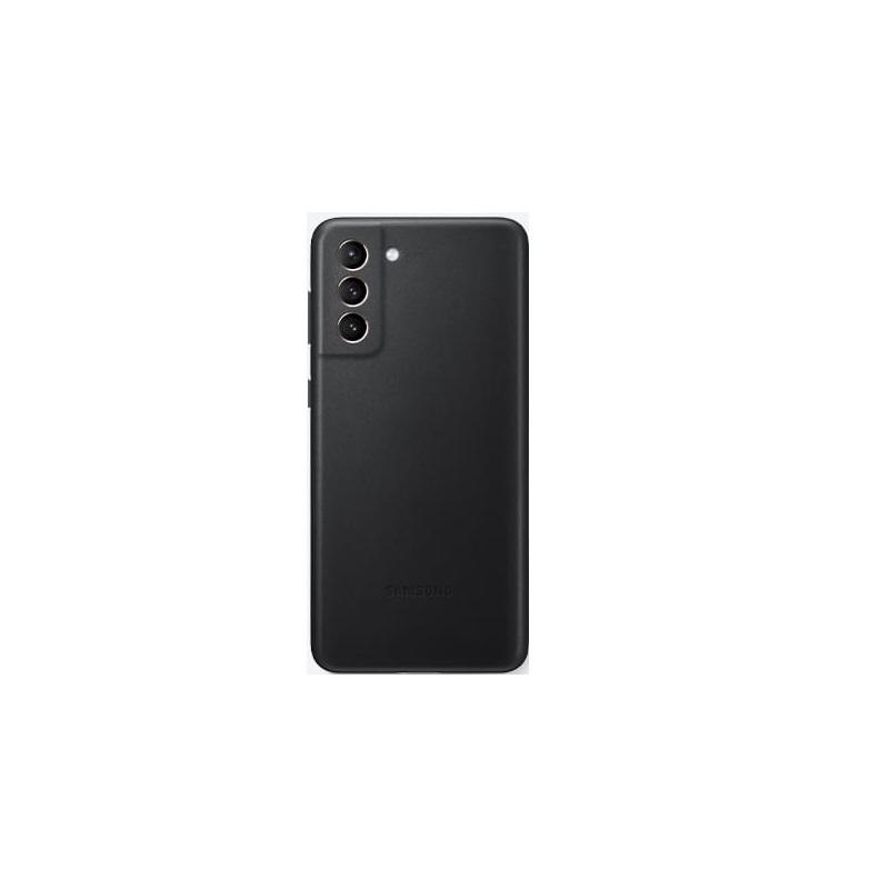 SAMSUNG Galaxy S21+ 原廠皮革背蓋 黑