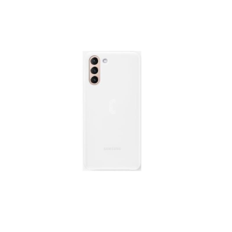 SAMSUNG Galaxy S21+ 原廠LED智慧背蓋 白