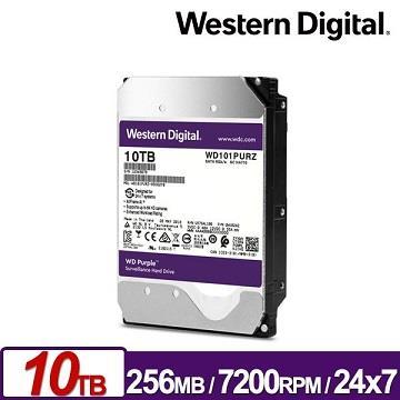 WD威騰 3.5吋 10TB 內接硬碟 紫標