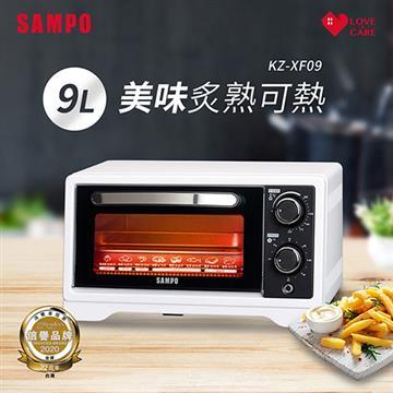 SAMPO聲寶 9公升多功能溫控定時電烤箱