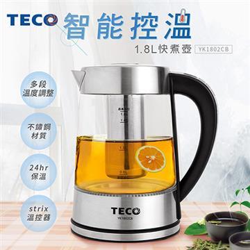 TECO東元 1.8L智能溫控快煮壺