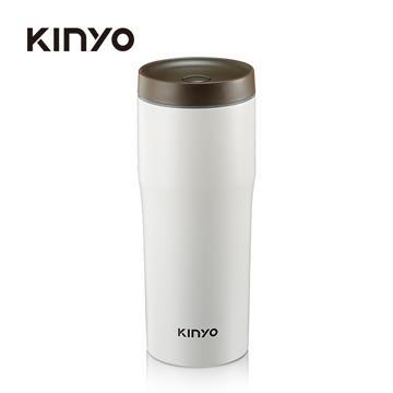 耐嘉KINYO 304不鏽鋼480ml車用保溫杯