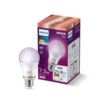 飛利浦Philips WiZ連網7.5W LED全彩燈泡