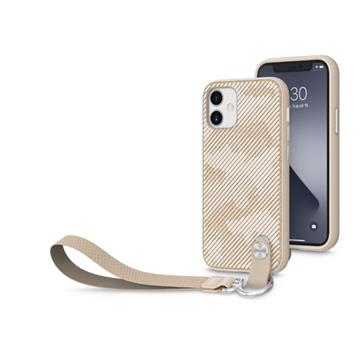 Moshi Altra iPhone 12 mini 腕帶保護殼-棕(99MO117306)