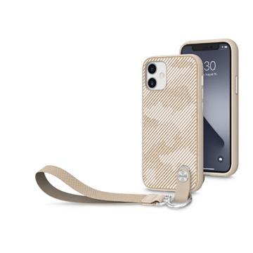 Moshi Altra iPhone 12 mini 腕帶保護殼-棕