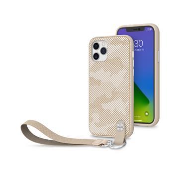 Moshi Altra iPhone 12/12Pro腕帶保護殼-棕