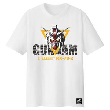 華碩 鋼彈聯名T-Shirt-白(L)
