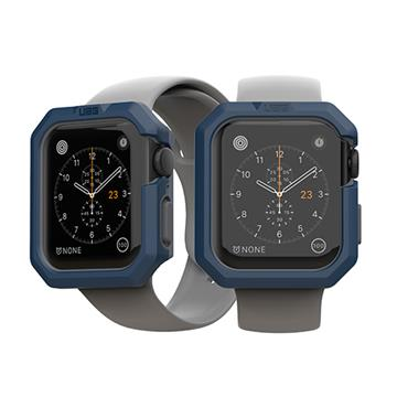 UAG Apple Watch 44mm 耐衝擊簡約保護殼-藍