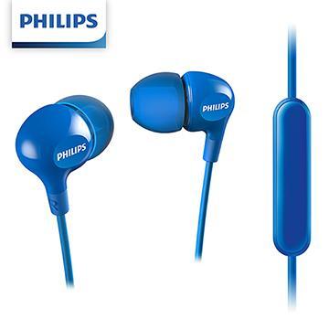 PHILIPS SHE3555入耳式耳麥-藍