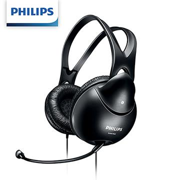 PHILIPS SHM1900/00頭戴式耳麥-黑