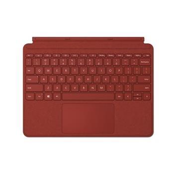 微軟Surface GO 實體鍵盤保護蓋(緋紅)