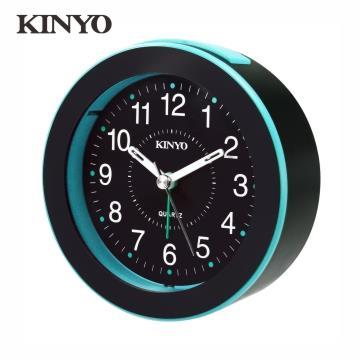 KINYO 時尚圓形鬧鐘