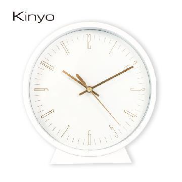 KINYO 北歐風三合一桌掛鬧鐘 ACK7115W