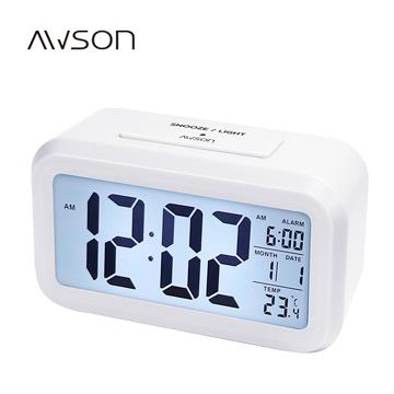 Awson 簡約光控電子鐘