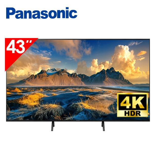 國際牌Panasonic 43型 4K六原色智慧聯網顯示器