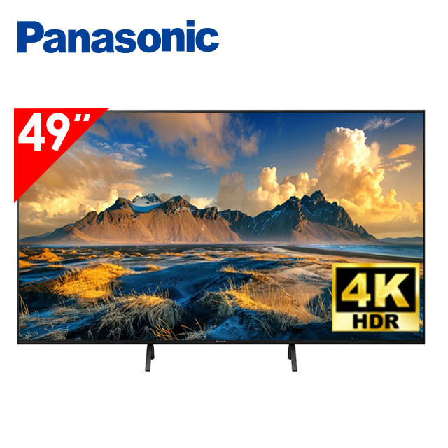 國際牌Panasonic 49型 4K六原色智慧聯網顯示器